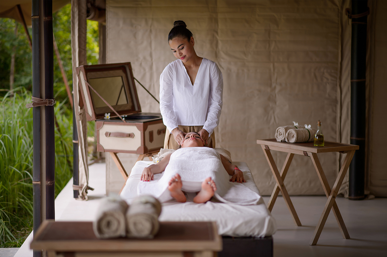 The BEIGE's spa is located in Angkor Thom, richly surrounded by the forest
